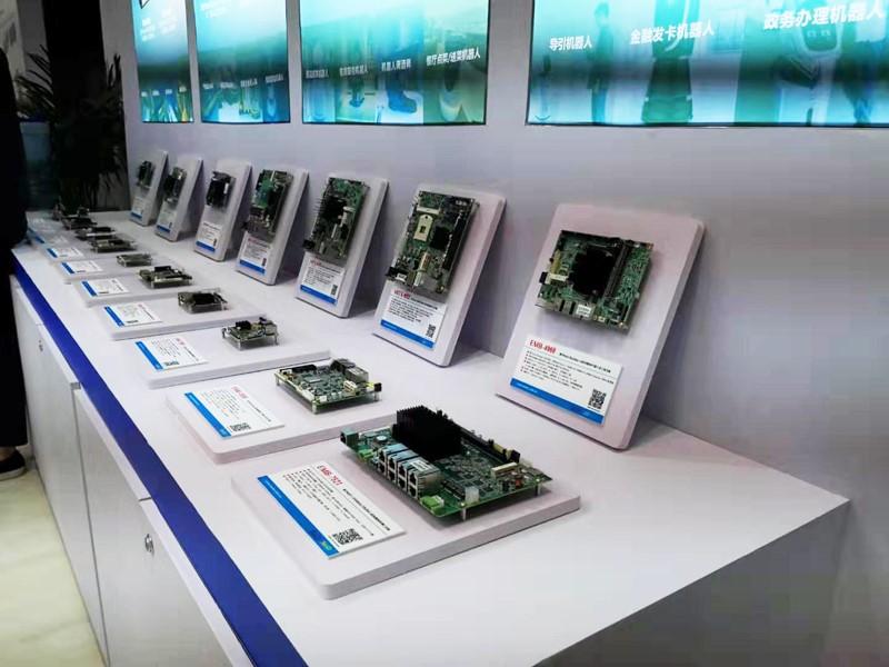展会进行时</p><p>   参展世界机器人大会 探索嵌入式计算机的新角色