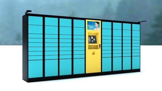 迈肯思工控- 智能快递柜   软硬件方案齐头并进