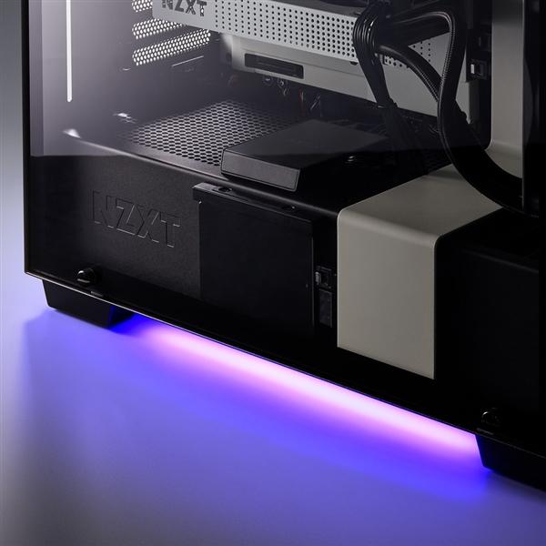 NZXT发布全新HUE 2 LED灯带:酷炫RGB灯效