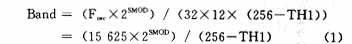 单片机与PC机串行通信中波特率的确定