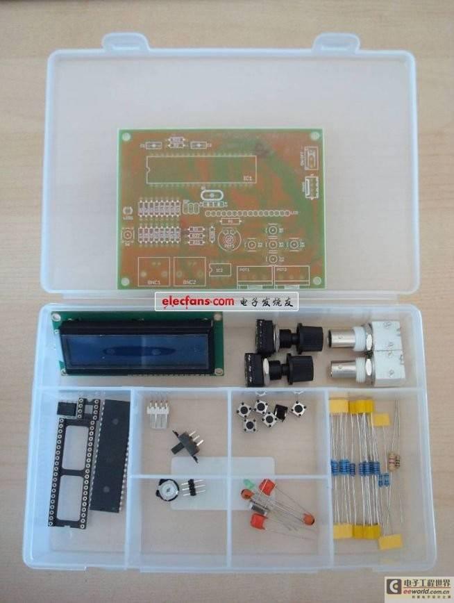 一种新的实现DDS的AVR信号发生器(原理图和PCB图)