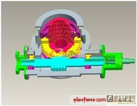 基于Pro/E5.0的阀门控制器结构设计