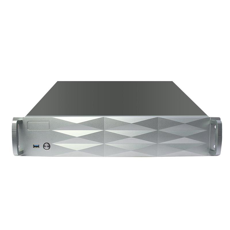 2U工控钻石菱角面板设计,40