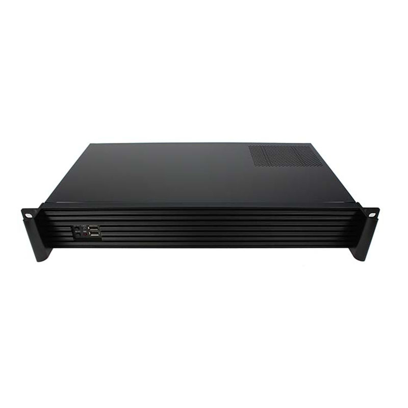 1.5U Mini-ITX dual system Compact Server case, Rackmount Chassis, industrial PC case