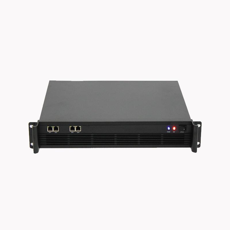 1.5U机箱320MM深,4个LAN接口
