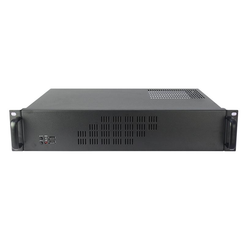 2U标准机箱,300MM深,7个硬盘位