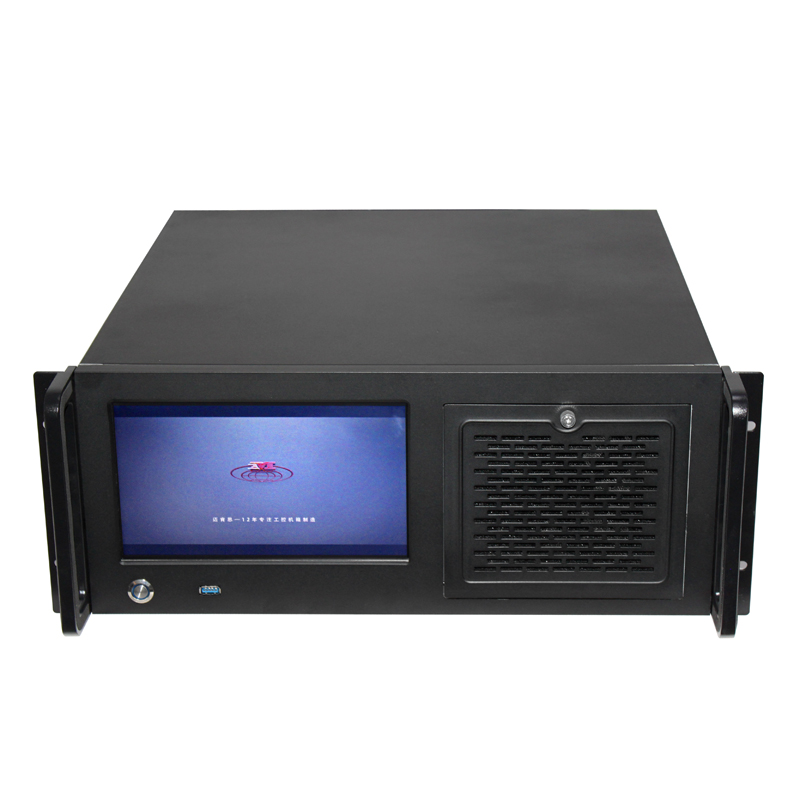 Manufacture 4U 19inch Industrial Computer Workstation sever Case with LCD server chassis support ATX MB