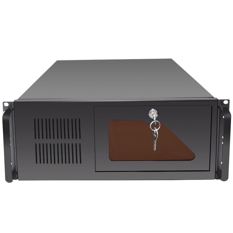 wholesale price 4U 19 inch Rackmount server case with seven high slot support 12 HDD and ATX mainboard