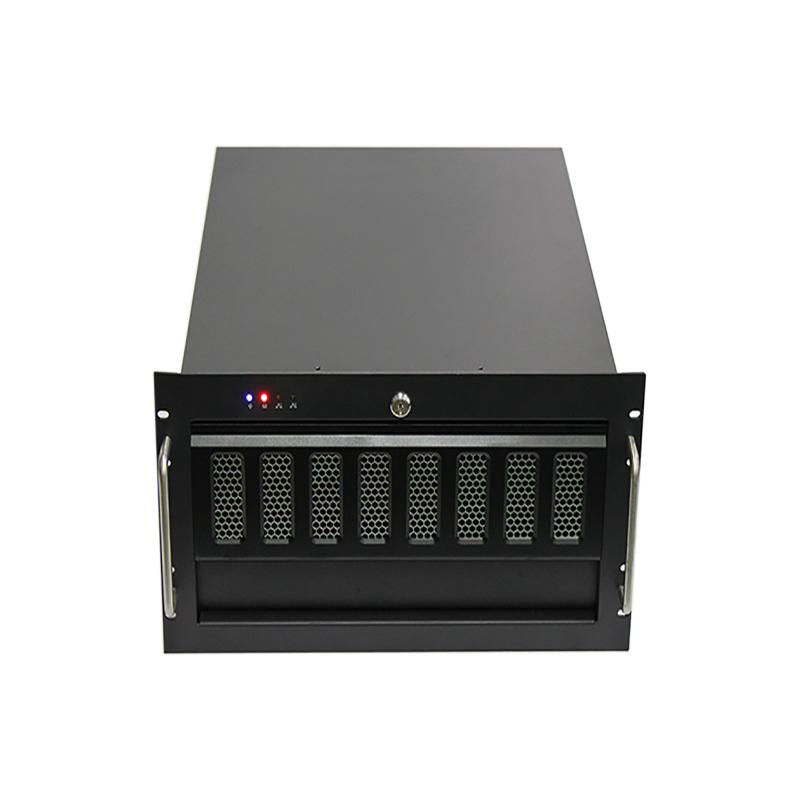 6U机箱,热插拔6盘位双层设计