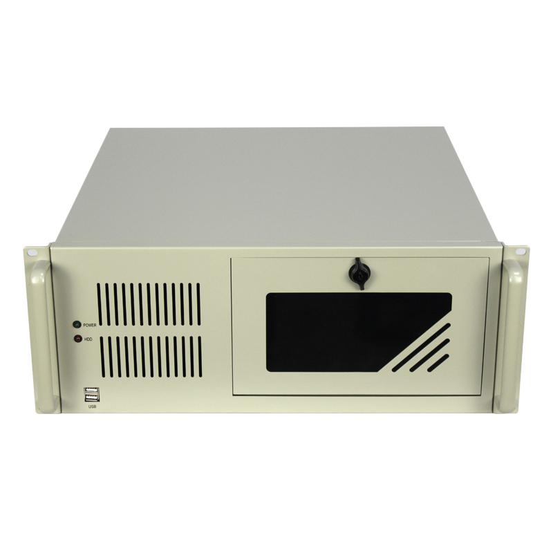 4U机箱450MM深度,3个光驱位