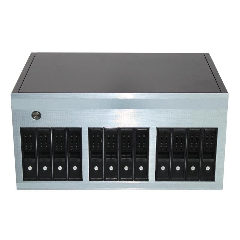 12硬盘位机箱,专业存储机箱