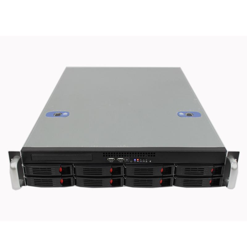2U机箱660MM深,8个热插拔硬盘位