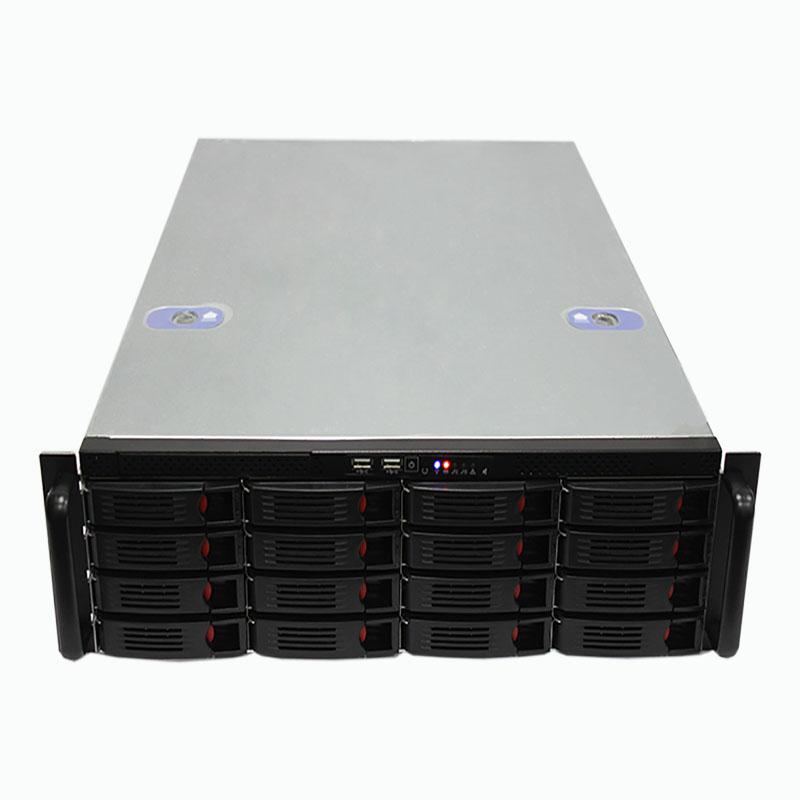 3U机箱660MM深,16个热插拔硬盘