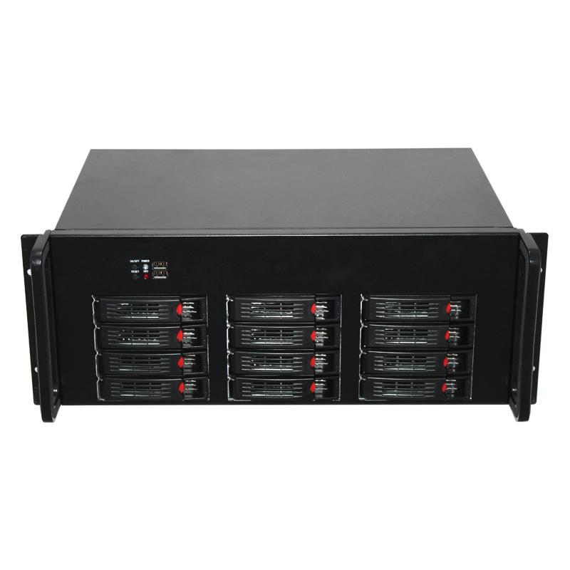 12硬盘位机箱,IPFS企业级挖矿机